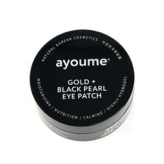Ayoume Gold + Black Pearl Eye Patch