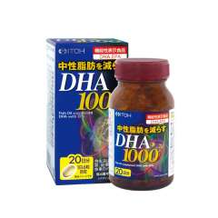 ITOH Комплекс Омега-3 DHA 1000