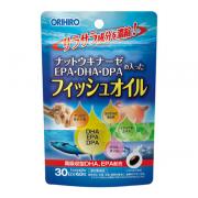 ORIHIRO Омега-3, Натто, Гинкго