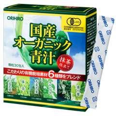 Зелёный сок Аодзиру из 6 трав