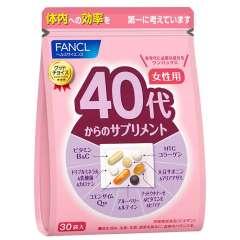 FANCL для женщин после 40 лет