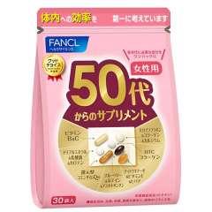 FANCL для женщин после 50 лет